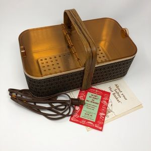 Vintage Kitchen - Vintage Salton Hot Basket Bun Warmer